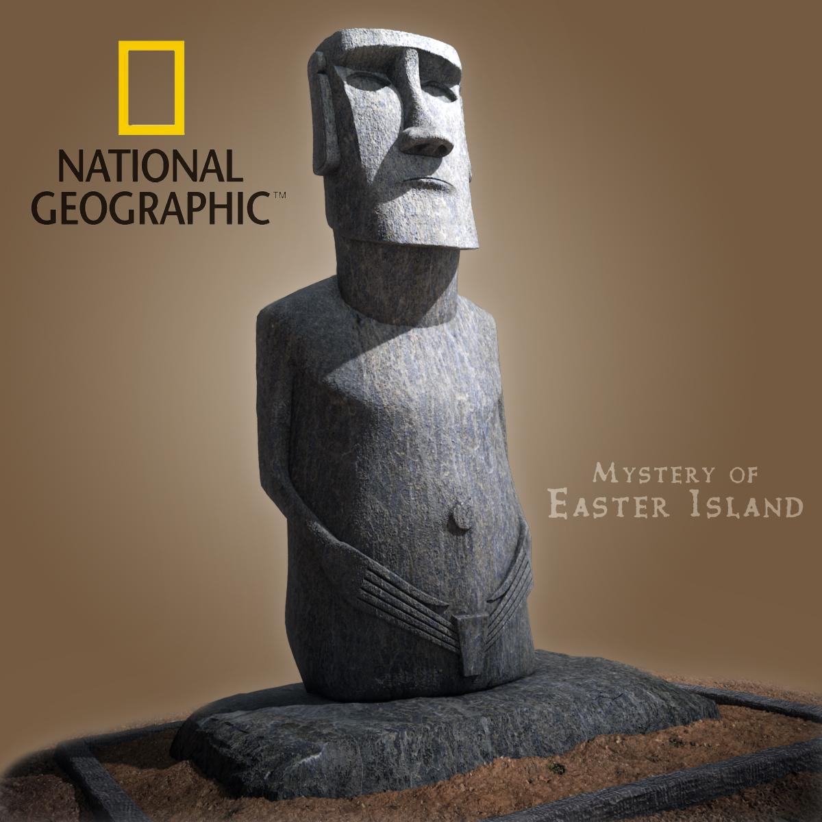Moai Statue - Easter Island